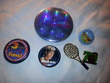 Lot of 6 Lapel Pins Braves Staying Alive Tennis San Diego Zoo Red Rock Canyon
