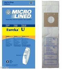 3 Eureka U Upright Vacuum Bags