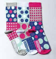 Cotton Blend Spotted 2-3 Socks for Women , with Multipack