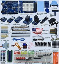 Full Edition UNO R3 Starter Kit for Arduino 1602LCD RFID Servo PIR USA Shipping