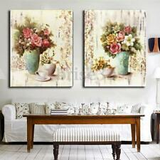 HD Flower Abstract Wall Art Painting on Canvas Print Picture Home Decor No Frame