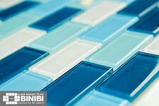 BRICK Rectangular Glass Mosaic Tiles Bathrooms Kitchens Wall Floors SALE! 4B-116