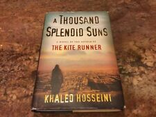 A Thousand Splendid Suns: a novel, Khaled Hosseini 2007 Hardback Dust Jacket