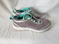 Vionic Agile Fyn Athletic Sneakers Womens Size 6 Shoes Gray Teal Lace Up 335FYN