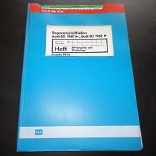 Werkstatthandbuch Audi 90 B3 Quattro MPI Einspritzanlage Zündanlage NM 2,0 L 20V