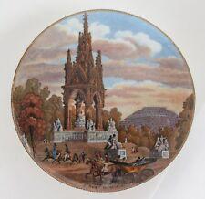 Pot lid. 'Albert Memorial (with carriage)' No. 191