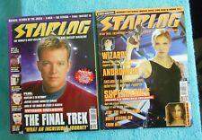 2001 Starlog Magazines #12 & #20