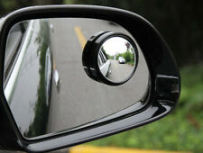 2 Pcs Round Stick-On Convex Rearview Blind Spot Mirror Set For Car New