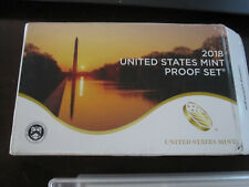 2018 S United States Mint Proof Set 10 coins w/ Box and COA