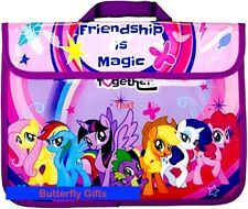 Official My Little Pony Friendship Is Magic Character School Book Bag 2018