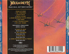 "MEGADETH ""PEACE SELLS BUT WHO'S BUYING?"" EUROPEAN EDITION CD / METAL HEAVY ROCK"