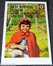 Ladybird Book Cover Postcard RED RIDING HOOD new