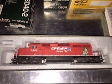 KATO HO SCALE, CP RAIL #5902 SD40-2 SNOOT, SMOKEY THE BEAR, CUSTOM DETAILED