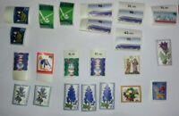 Lot mit 22 Stück Briefmarken; Bundesrepublik ungestempelt