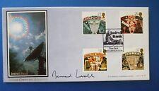 Un G Bradbury 1990 ASTRONOMIA UFFICIALE FDC firmato da Bernard Lovell-solo 55 fatto