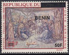 Benin MNH RARE Overprint Sc C563 Value $ 30,oo US