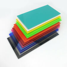 100x200mm Colored Acrylic Sheets Perspex Plexiglass Plastic Cut Panels Plate DIY