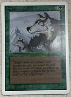 Aspect of Wolf MP With Printline Unlimited 1993 Original Mtg