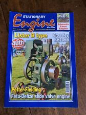 STATIONARY ENGINE MAGAZINE March 2014 No.480 Lister B Crossley BH1065 Petter