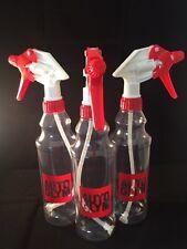 Autoglym Trigger Spray Bottles 500ml Valeting x 3