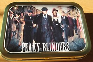 Peaky Blinders 1 and 2oz Tobacco/Storage,Bait Tin