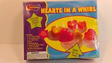 CRAFT HOUSE HEARTS IN A WHIRL SWIRLING HEARTS CANDLE KIT SEALED BOX