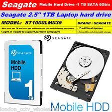"""1 TB SEAGATE MOBILE 2.5 """"Internal Notebook HARD DRIVE SATA III da 6Gb / s, 5400RPMrpm"""