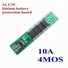 1S 3.7V 18650 Lithium Battery 4MOS 10A Charge Protection Board Parallel Spot Wel