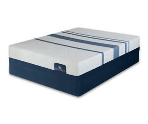 """Serta iComfort Blue Touch 300 11.25"""" Firm Memory Foam Mattress"""