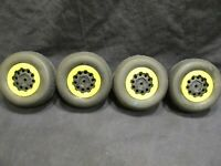 New Set of 4 Aka Impact 1:10 SC Tires, inserts and 12mm Short Course Wheels