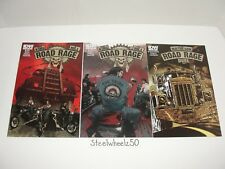 Road Rage #1-3 Comic Lot IDW 2012 Stephen King Joe Hill Duel Throttle 1A 2A RARE