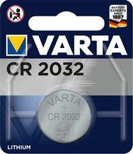 Varta Knopfzellen CR2016 CR2025 CR2032 V10GA Batterien neuester Herstellung 2020