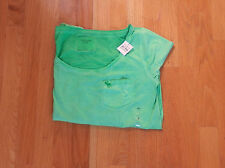 NWT Abercrombie & Fitch Mia Tee Medium Green By Hollister