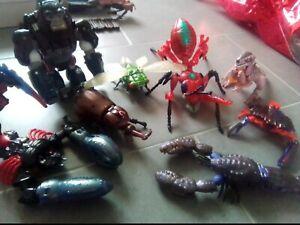 Lotto Transformers Beast Wars scorponok optimus primal dinobot inferno