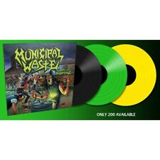 Municipal Waste 'The Art Of Partying' Yellow Vinyl - NEW (200 Copies Only)