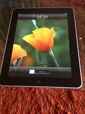 Apple iPad 1 originale WiFi 3G 64GB modello A1219 display 9,7""