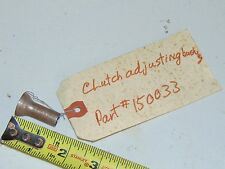 2 Nos Vintage PPT PassePartout Twin Tracked Vehicle Clutch Adjusting Bushing