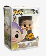 Disney Dopey With Kiss Chase Funko Pop #340 Snow White & Seven Dwarfs w/ Protect
