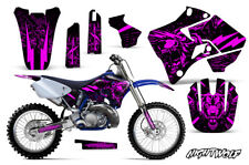 Yamaha YZ125 YZ250 Dirt Bike Graphic Sticker Kit Decal Wrap MX 96-01 NIGHTWOLF P
