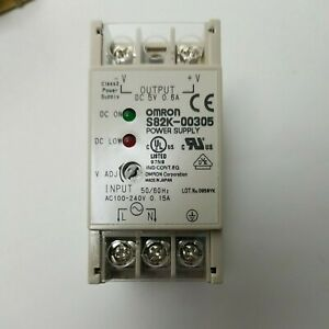 Omron S82K-00324 Power Supply