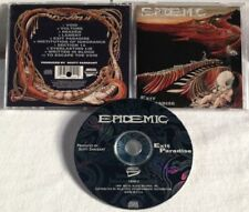 Epidemic - Exit Paradise CD OOP1994 METAL BLADE defiance vio-lence forced entry