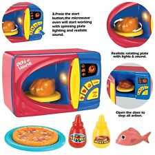Microwave  Pretend Play Kitchen children kids  Toy Chef  for Toddlers 3 plus NEW