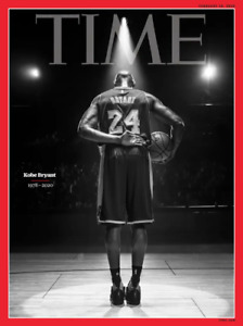 KOBE BRYANT Time Magazine FEBRUARY 10, 2020 - Newsstand Edition - NO LABEL - New