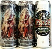 """Faxe Limited """"Sif"""" Part 4, empty can Beer,0.45L"""