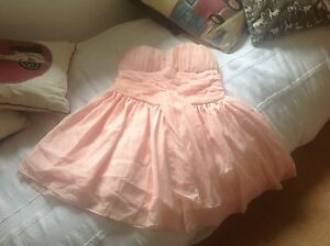 Cinderella peach dress size approx 12 new with tags