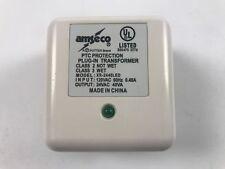Amseco XR2440 LED Transformer 24VAC 40VA 24 VOLT AC ALARM Power Supply XR-2440