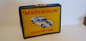 Matchbox Toy Car Collector Display Case filled with Matchbox Vintage Cars
