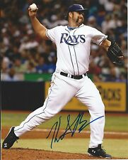 HEATH BELL signed TAMPA BAY RAYS  8x10 photo