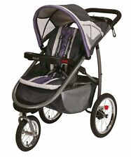 Graco FastAction Fold Click Connect Grapeade Jogger Single Seat Stroller