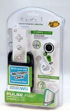 NEW Nintendo Wii Fit PULSE PAK Heart Rate Monitor Remote GREEN my fitness coach